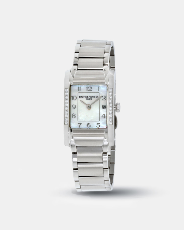 KarmaGear: Baume Mercier Hampton Mother Of Pearl Dial Stainless Steel Ladies Watch 10051