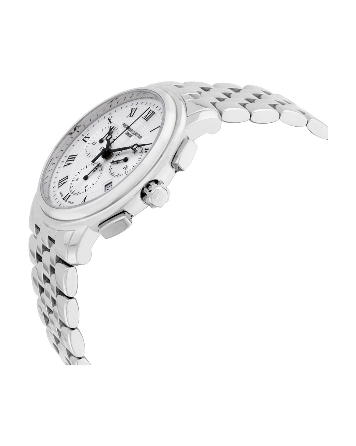 Frederique Constant Silver Dial Stainless Steel Men's Watch