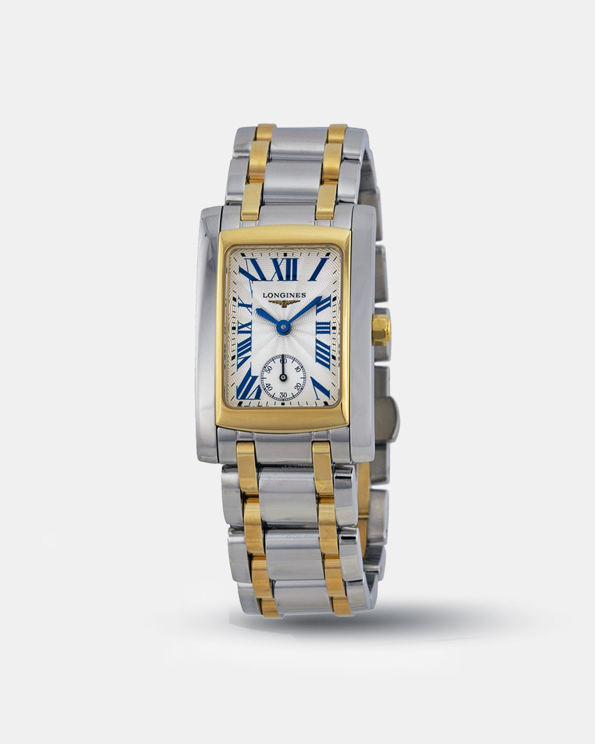 Longines DolceVita Silver Dial Stainless Steel Ladies Watch