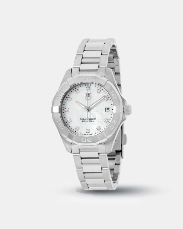 Tag Heuer Aquaracer MOP Dial Stainless Steel Ladies Watch
