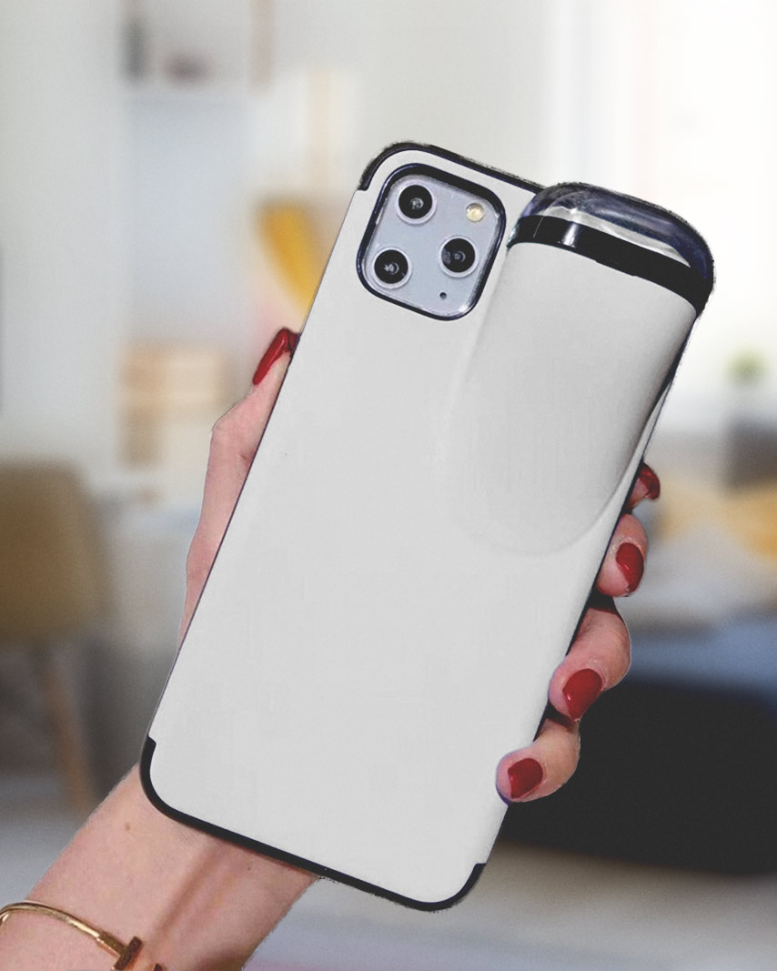 2-In-1 iPhone Case & AirPods Holder