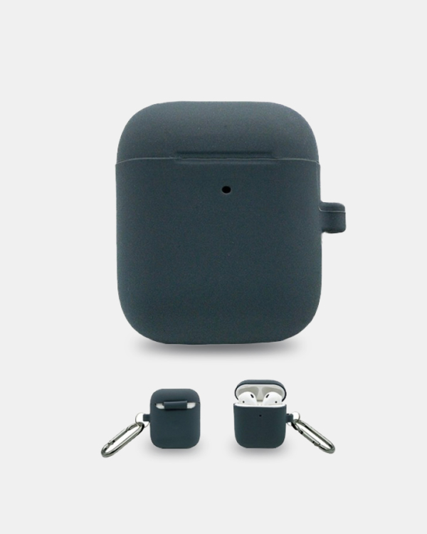 AirPods Silicone Case Skin - Grey