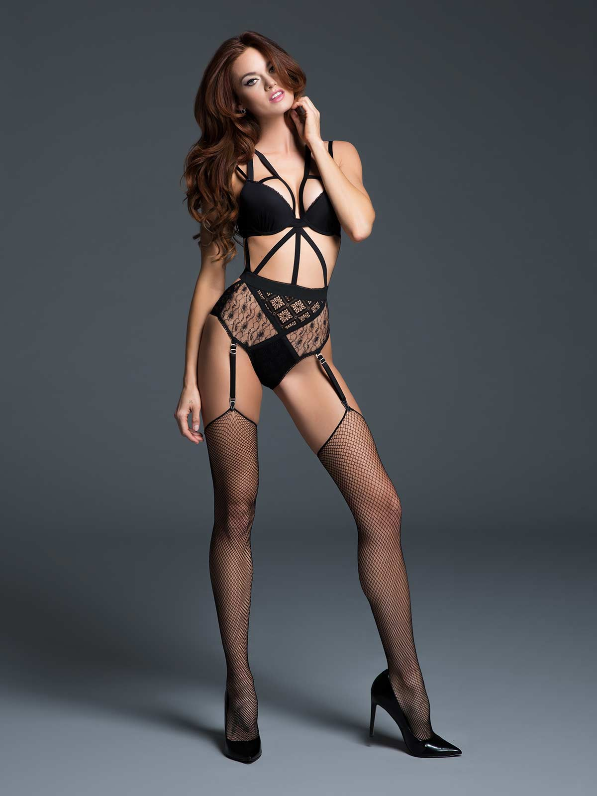 Angel of Love Lace Teddy