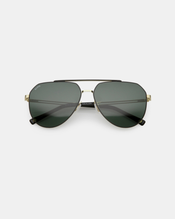 GLVSS Dealer Gold-Matte-Black Sunglasses