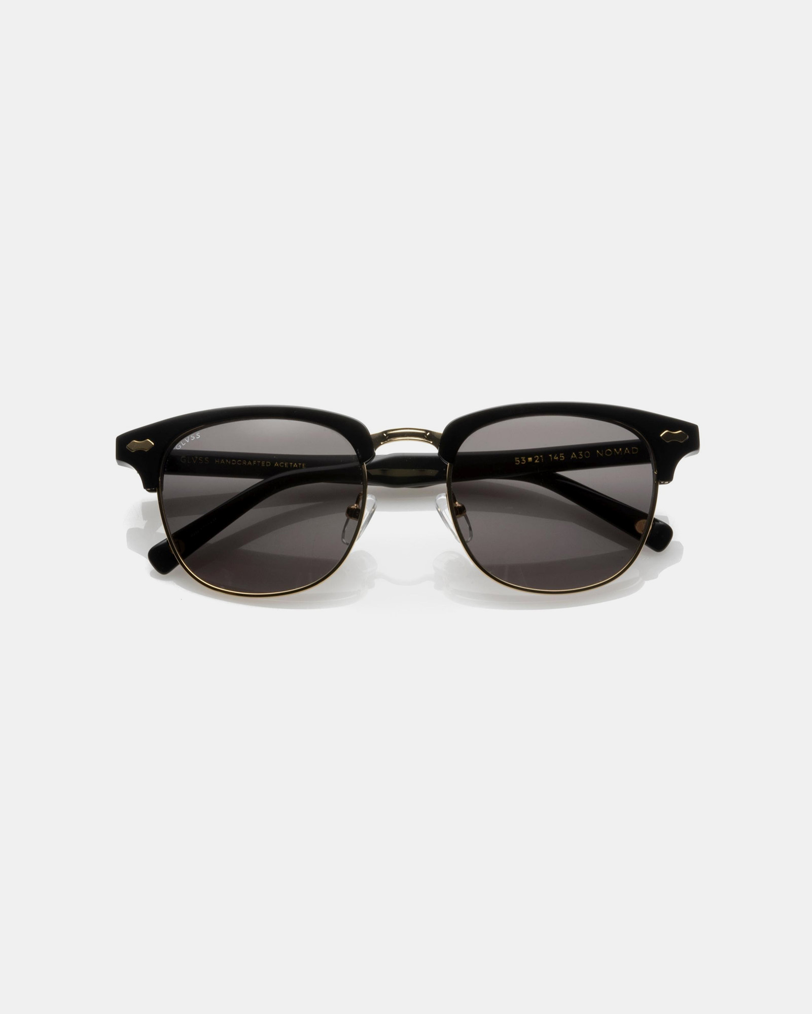 GLVSS Nomad Black/Gold Sunglasses