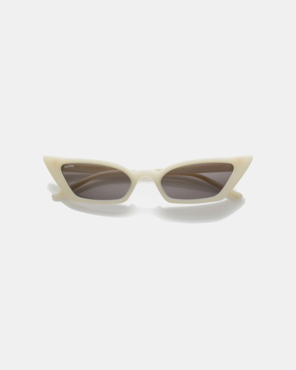 GLVSS Sunglasses The Flirt - White