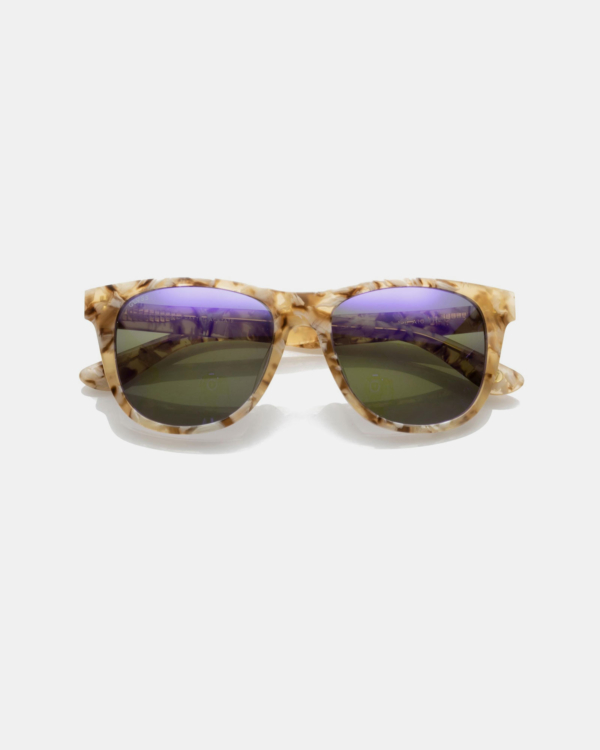 GLVSS Sunglasses The Go To Creme Tortoise