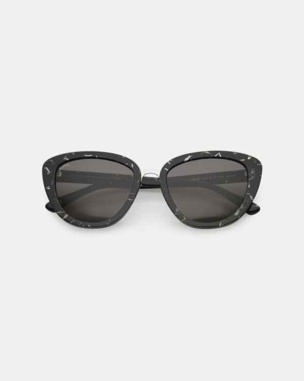 GLVSS The Muse Black Tortoise Sunglasses