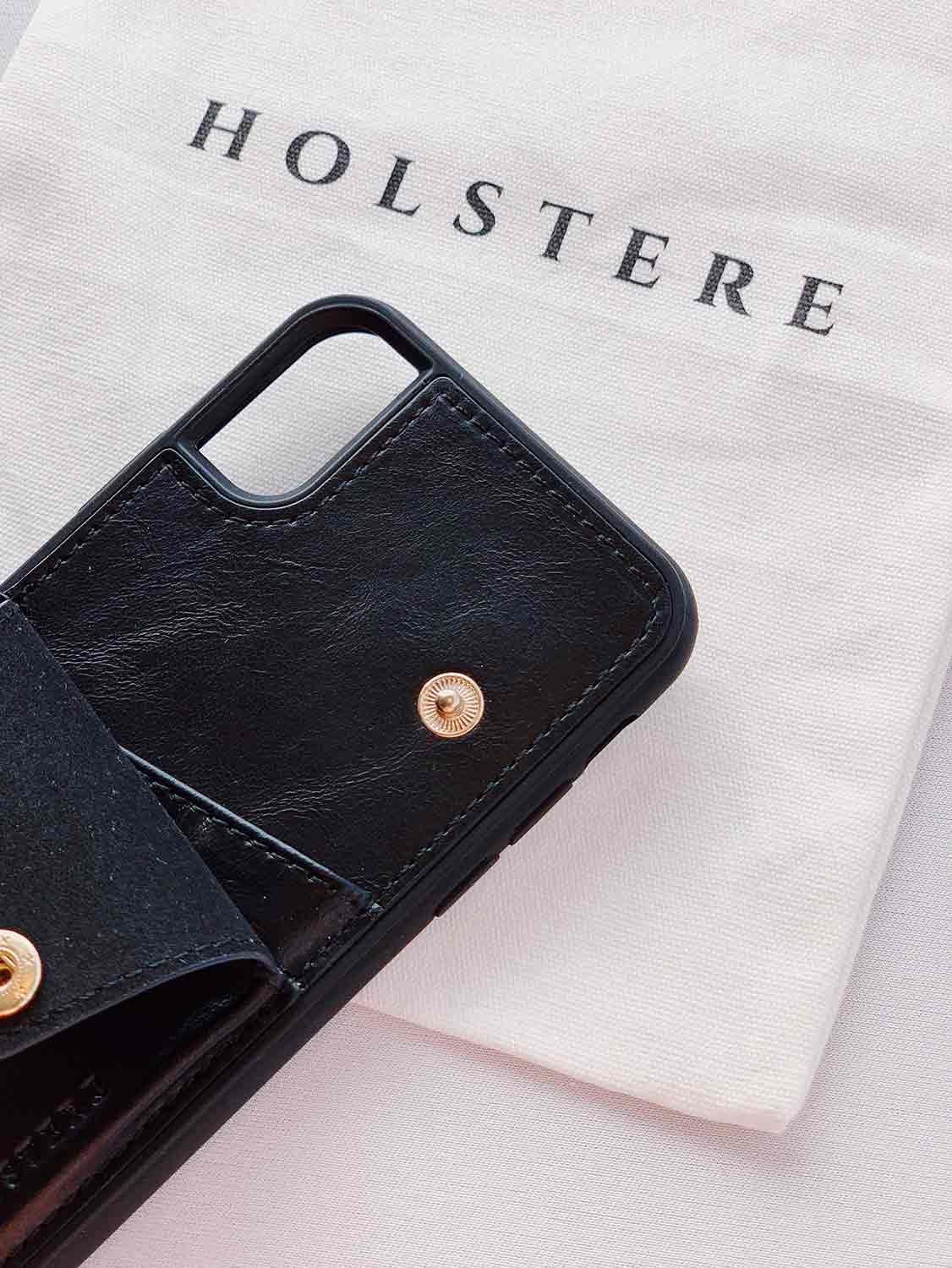 Holstere iPhone Case Crossbody - The London (Black)