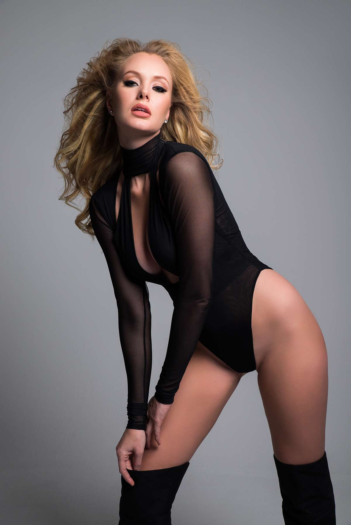 Just a Kiss Sheer Body