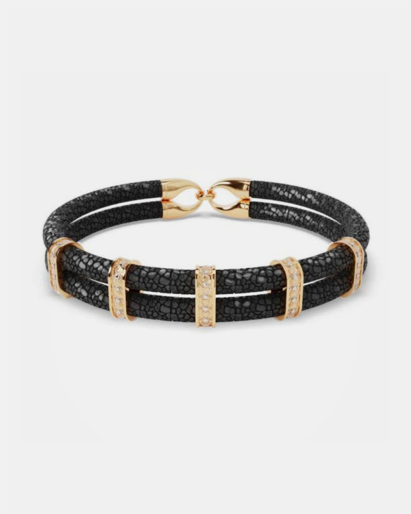 Karma - Black Stingray Bracelet