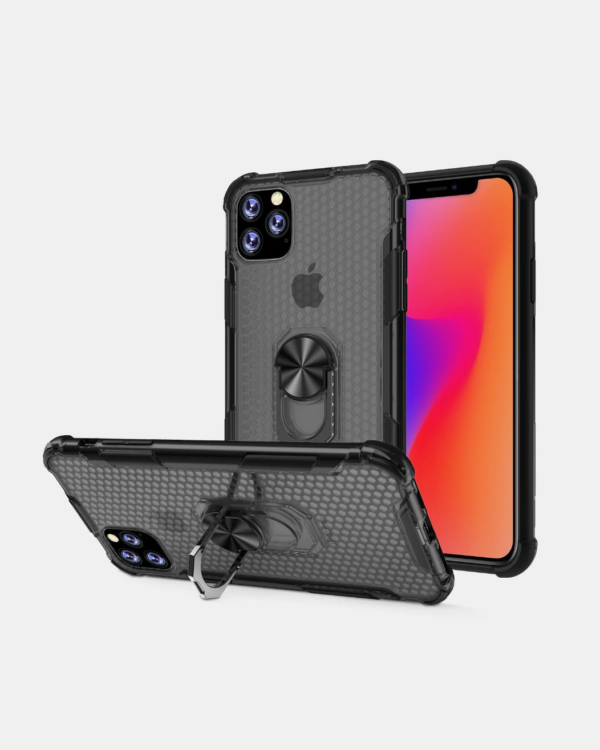 Magnetic Hard Back iPhone Case With Kickstand