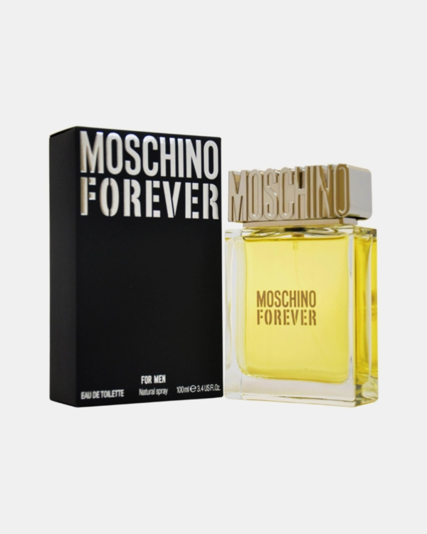 Moschino Forever by Moschino 3.4 oz Eau De Toilette Spray for Men