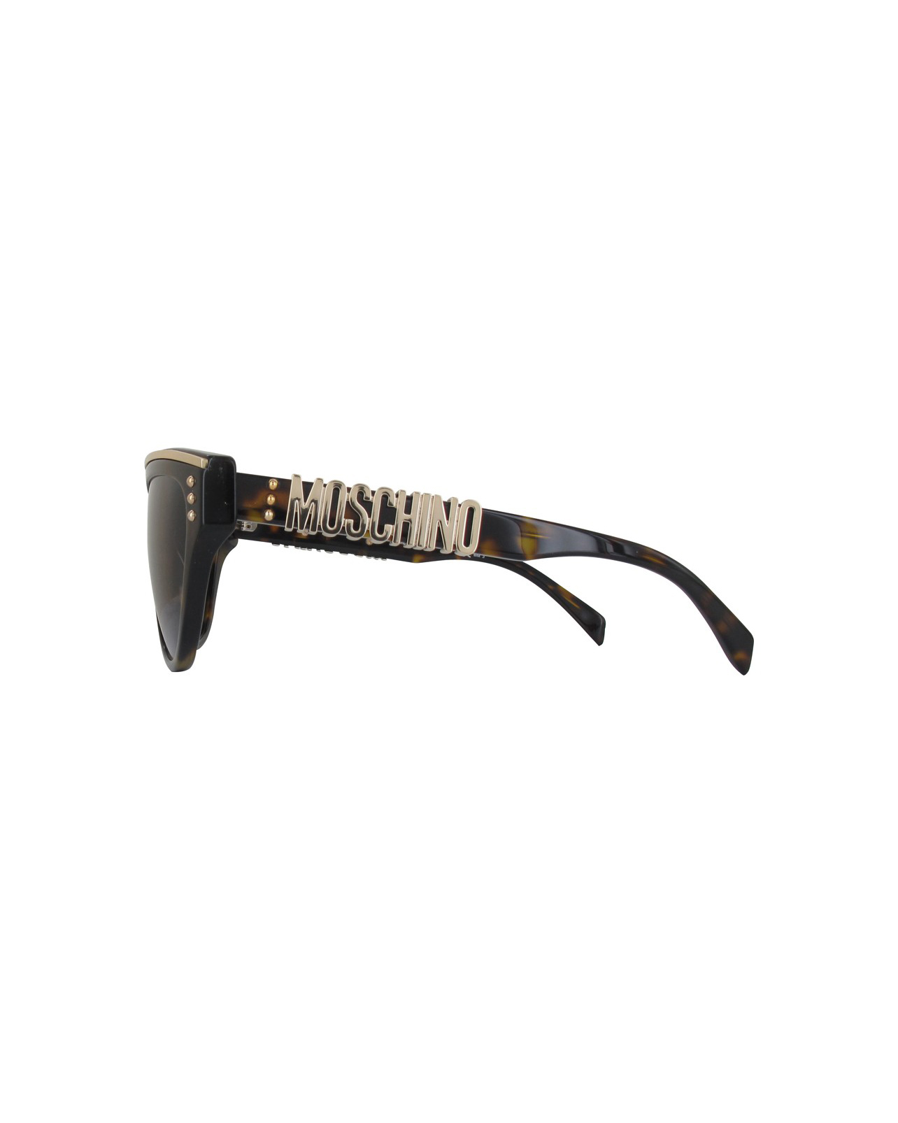 Moschino Dark Havana Women's Sunglasses