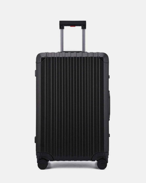 Trek Aluminum Suitcase - Black