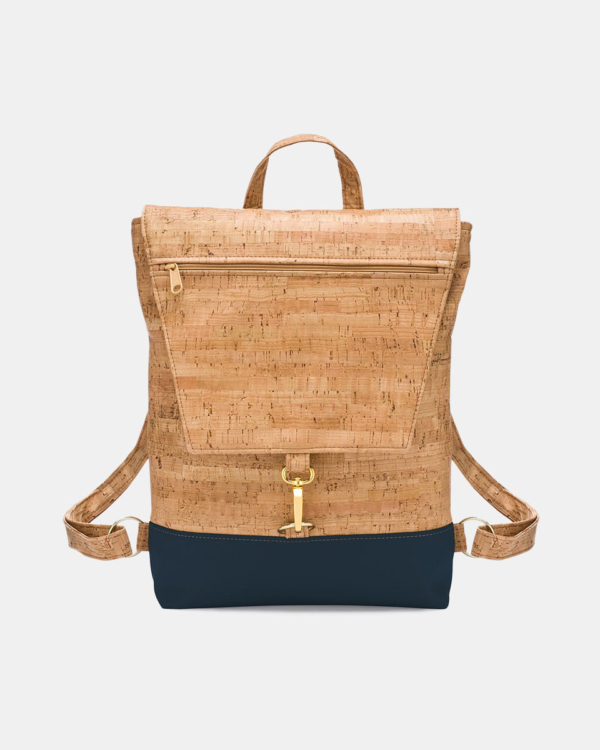 Natalie Therese Rustic Cork Backpack