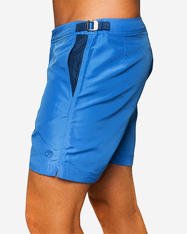 Paraiba Beachwear Men's Shorts - Classico Cabo - Blue
