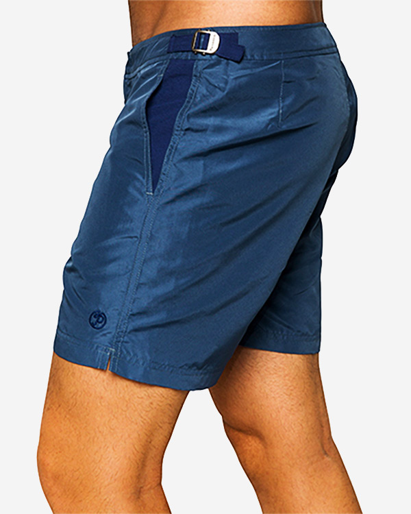 Paraiba Beachwear Men's Shorts - Classico Cabo - Petroleum