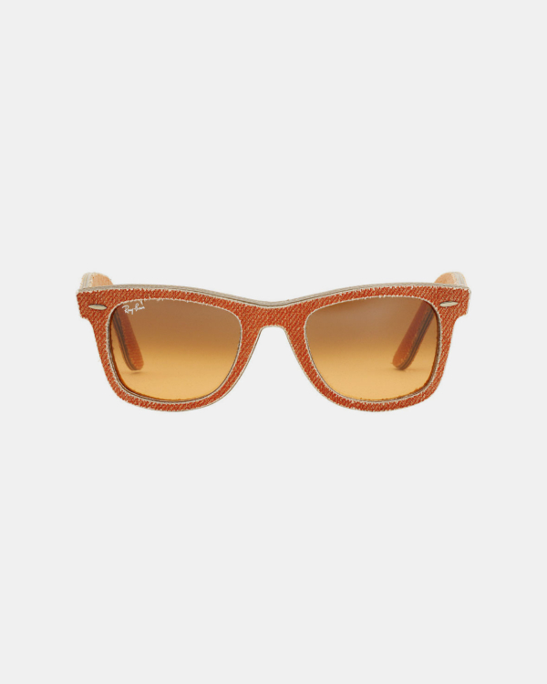 Ray Ban Acetate Frame Orange Sunglasses RB2140