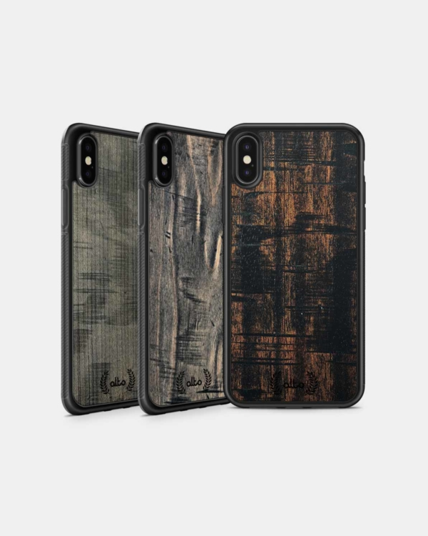 Real Weathered Wood Phone Cases