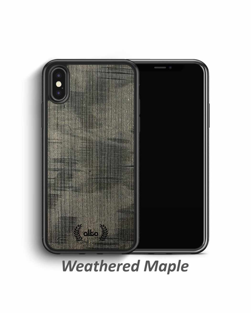 Real Weathered Wood Phone Cases - Maple