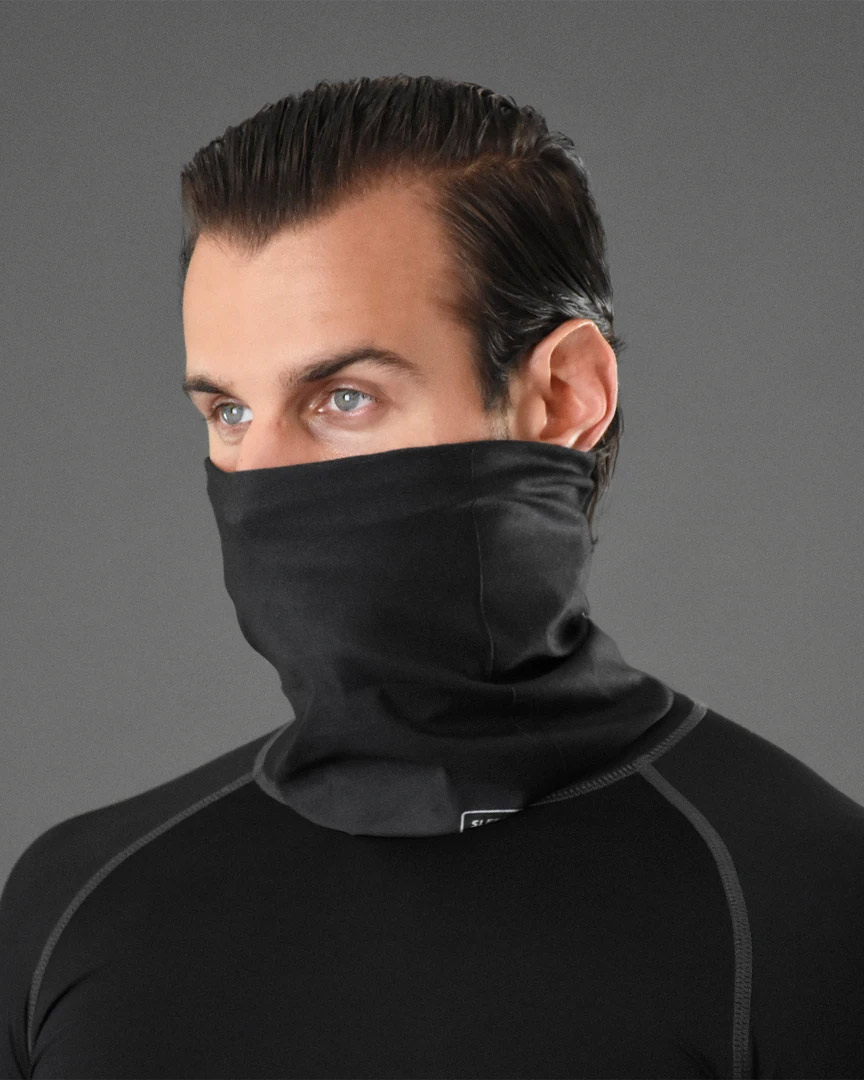 Sleefs Basic Black Neck Gaiter