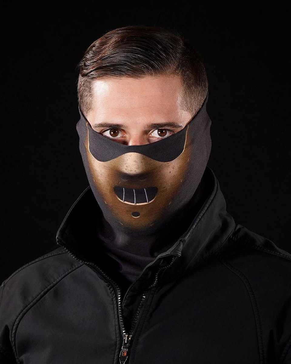 Sleefs Golden Mask Neck Gaiter