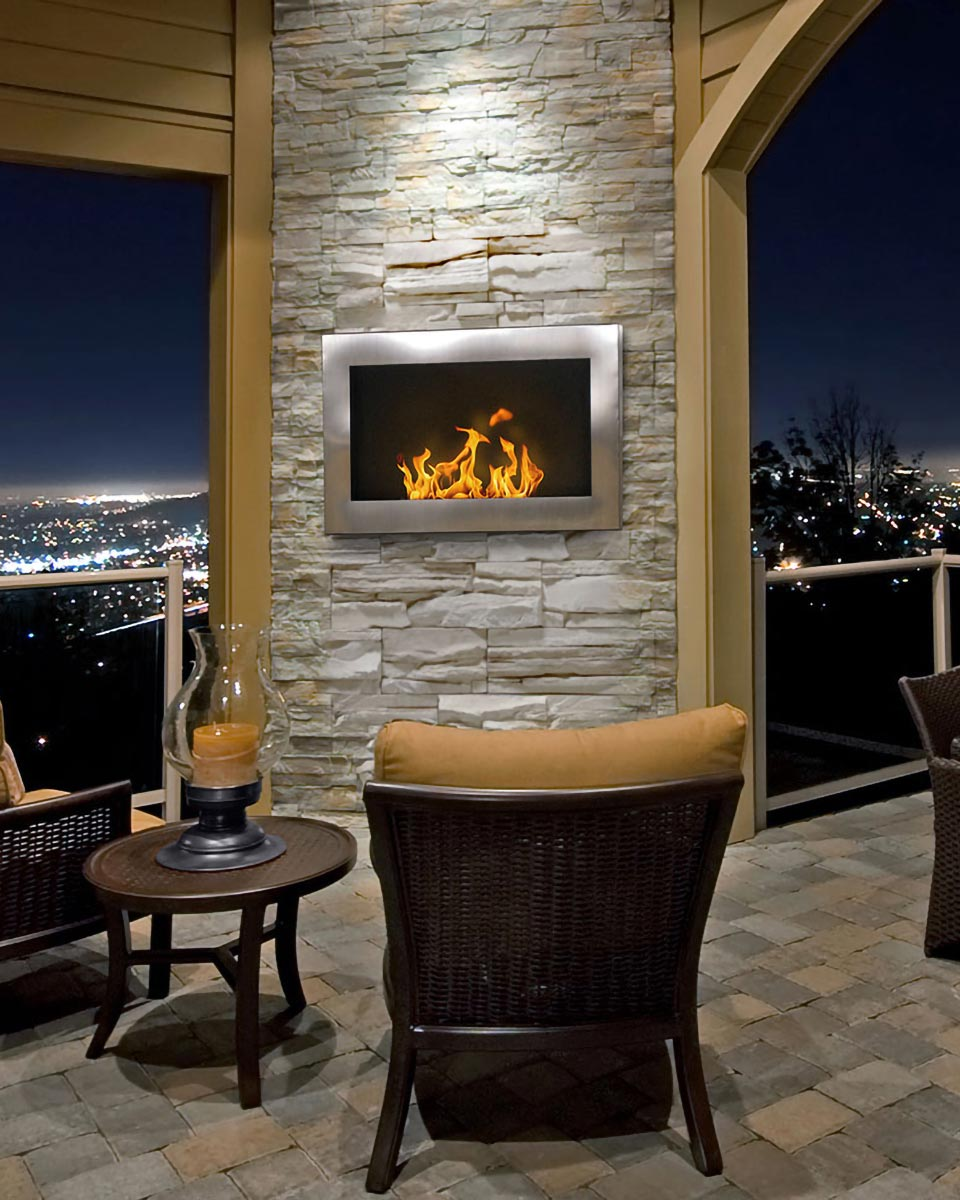 SoHo Wall Mount Fireplace