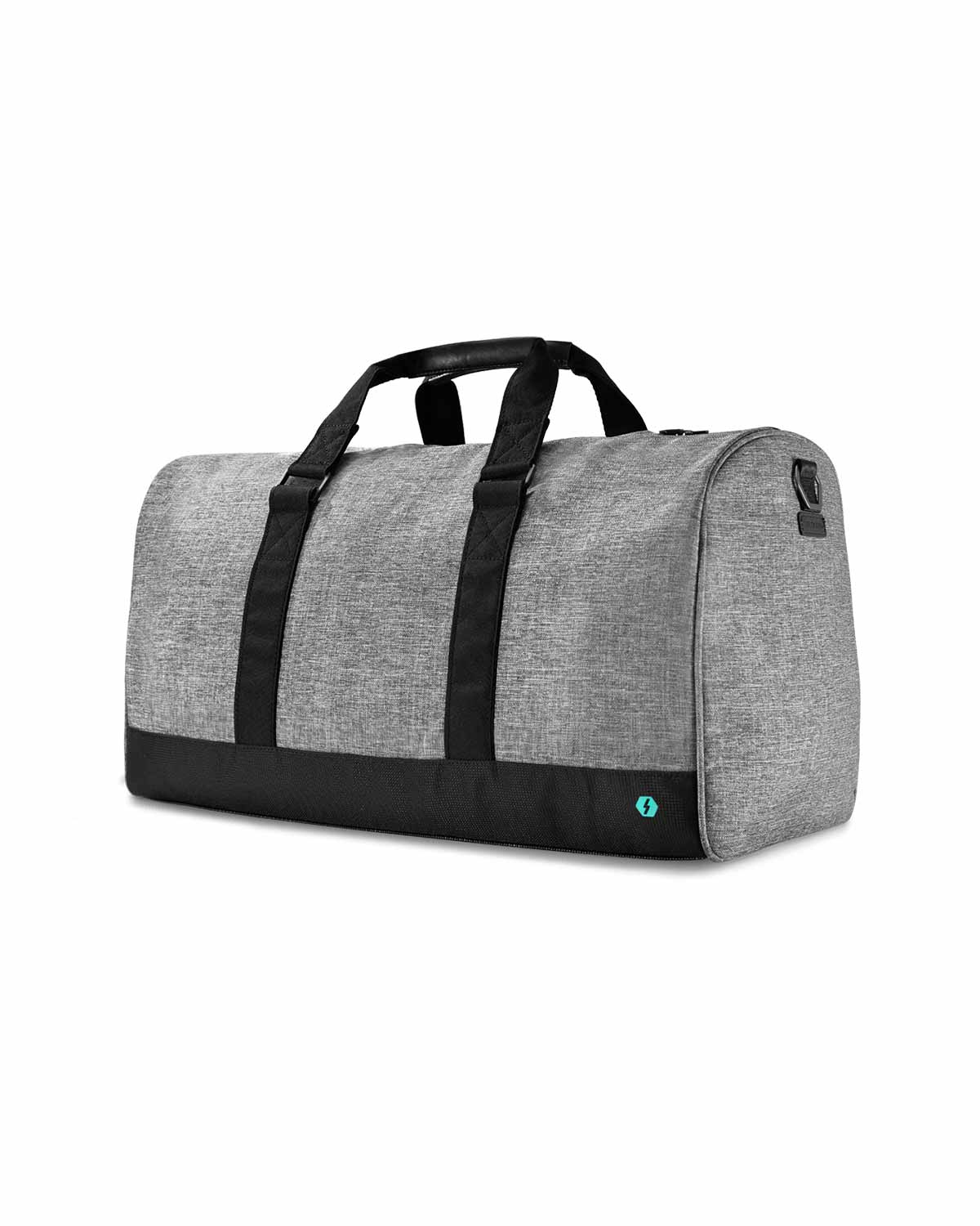 The Weekender Duffel Bag - Charcoal
