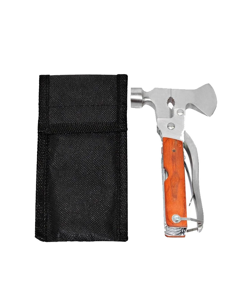 Stainless Steel Multi Tool Hammer with Hatchet