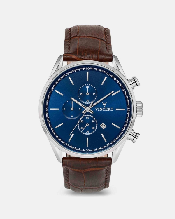 THE CHRONO S Blue/Brown