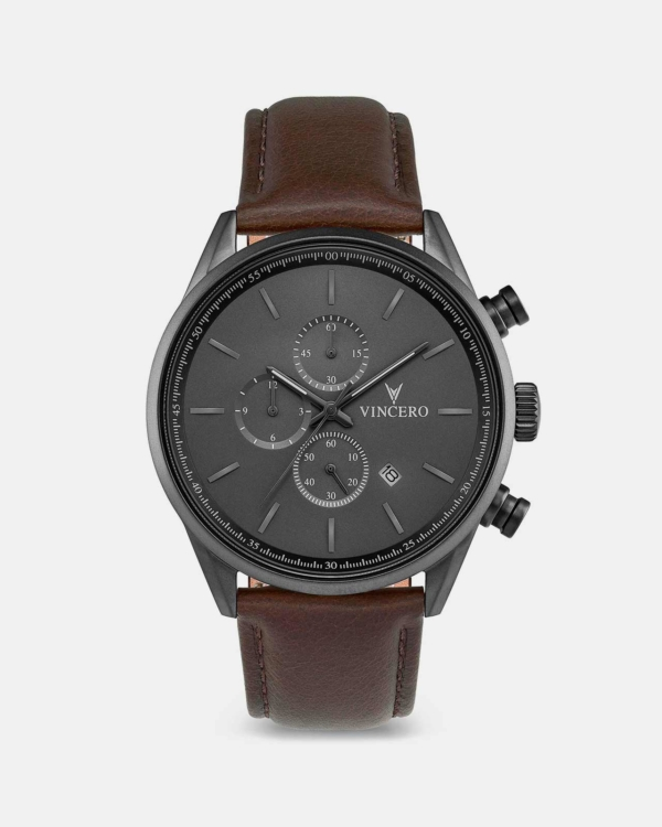 THE CHRONO S Gun Metal/Walnut