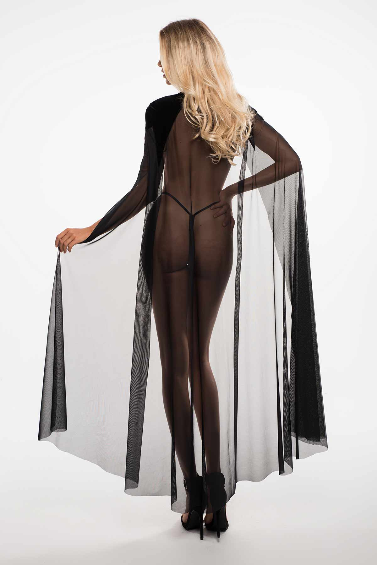 The Kiss Me Again Sheer Cape