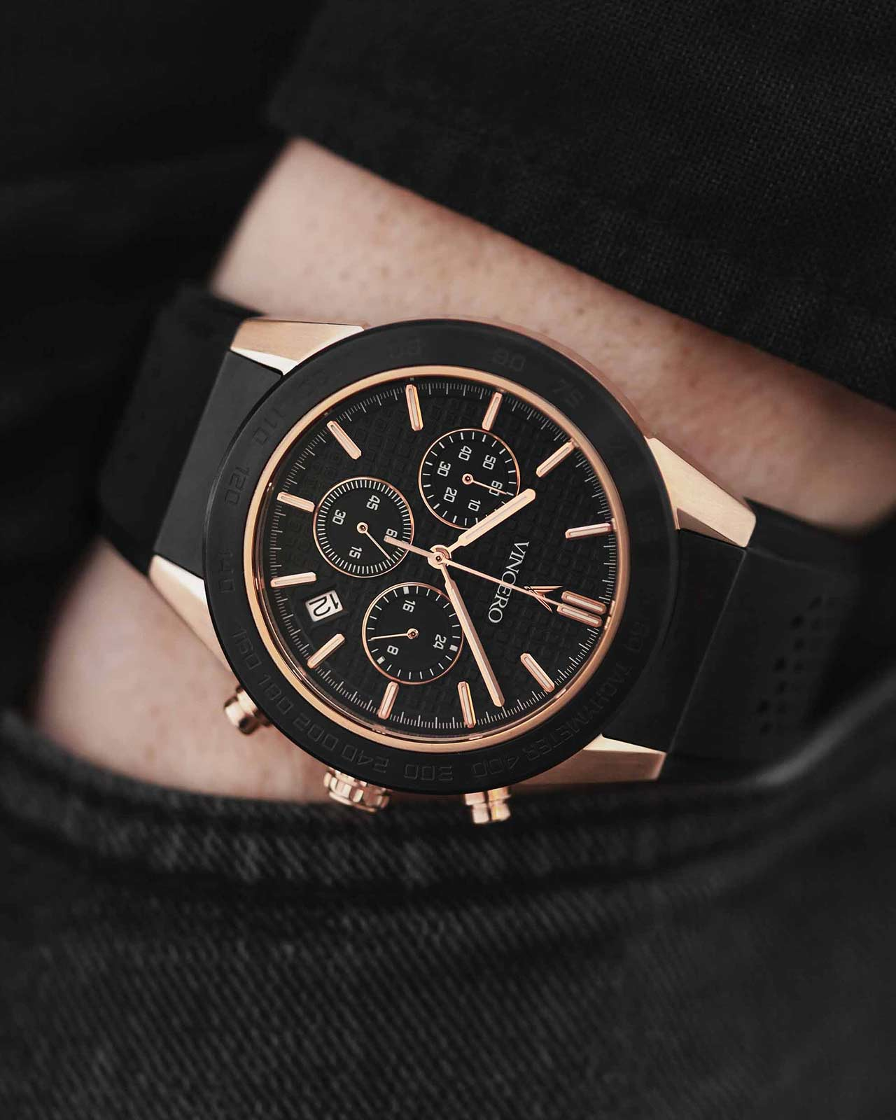 The Rogue Black + Rose Gold