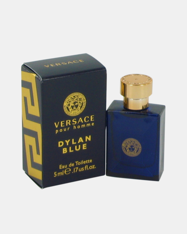 Versace Pour Homme Dylan Blue by Versace 0.17 oz Mini EDT for Men