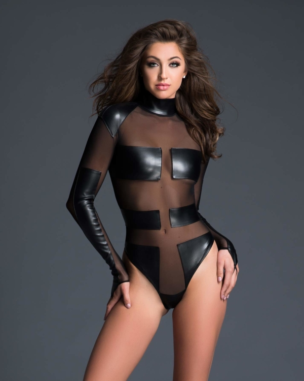 Geometric Sleek Sheer Body