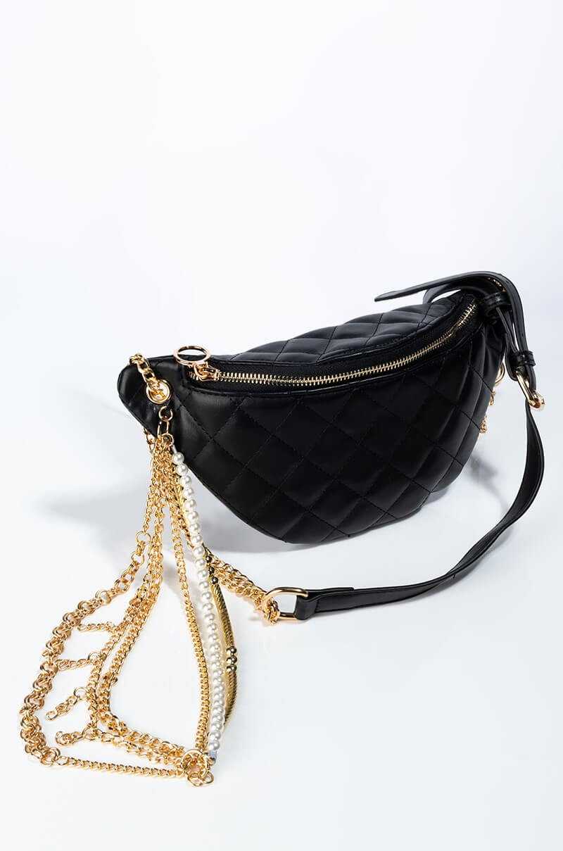 Gold Chain Fanny Pack 2
