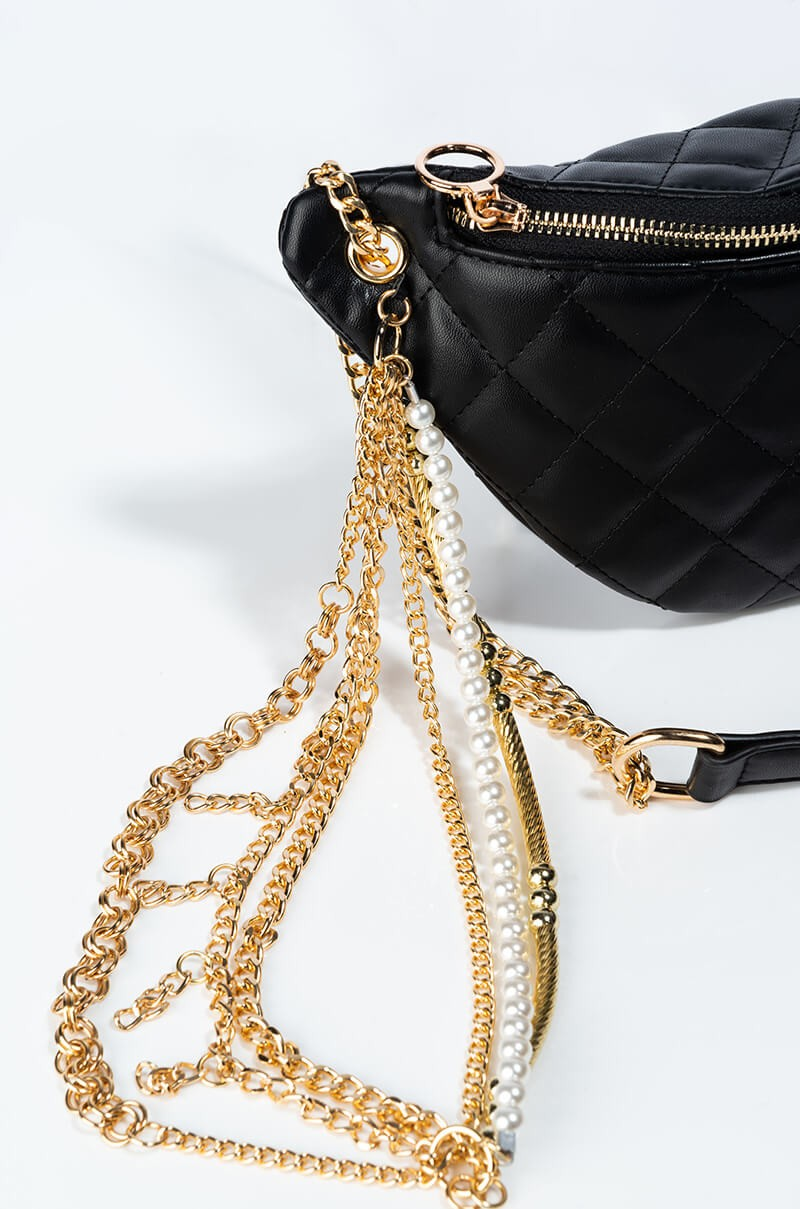 Gold Chain Fanny Pack 3