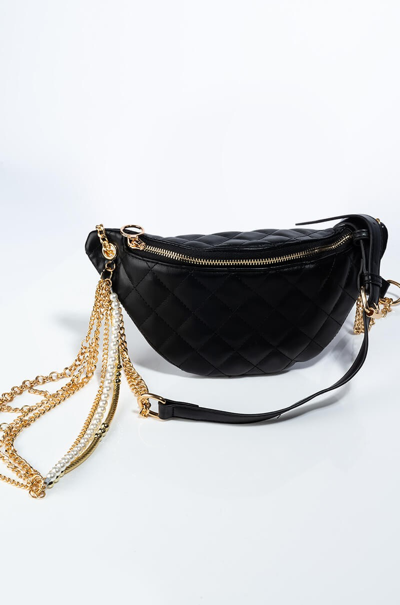 Gold Chain Fanny Pack 4