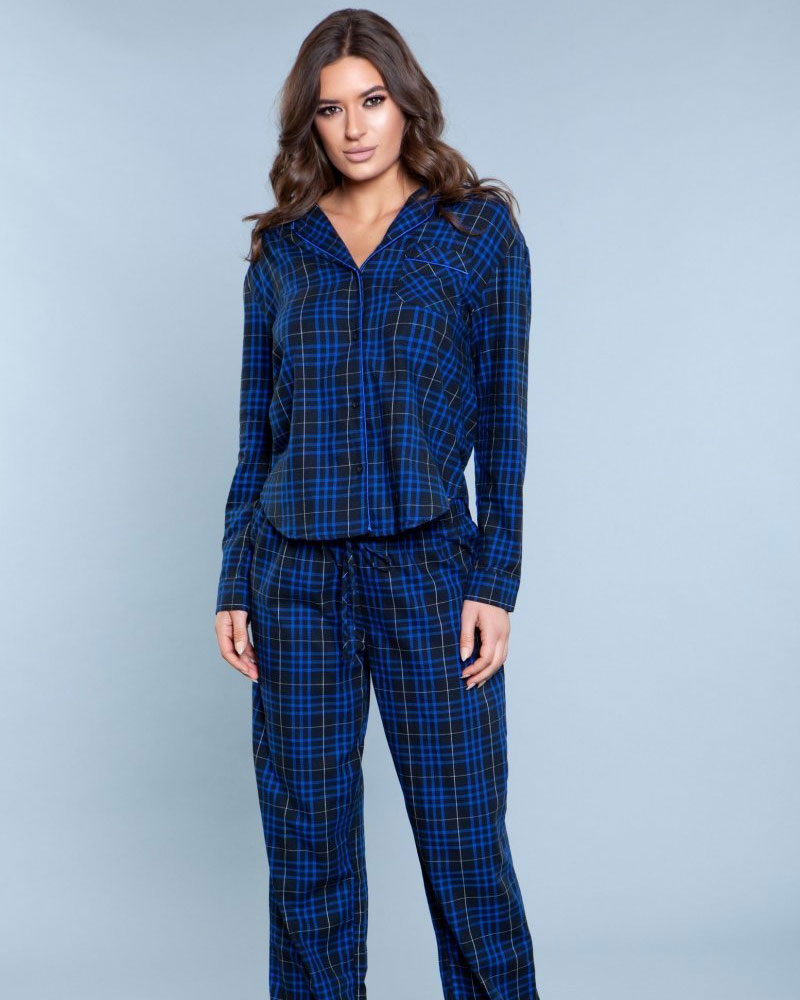Saige Two Piece Pajama Set 1