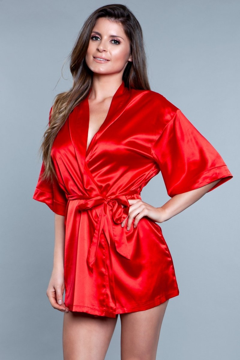 Home Alone Robe - Red 2