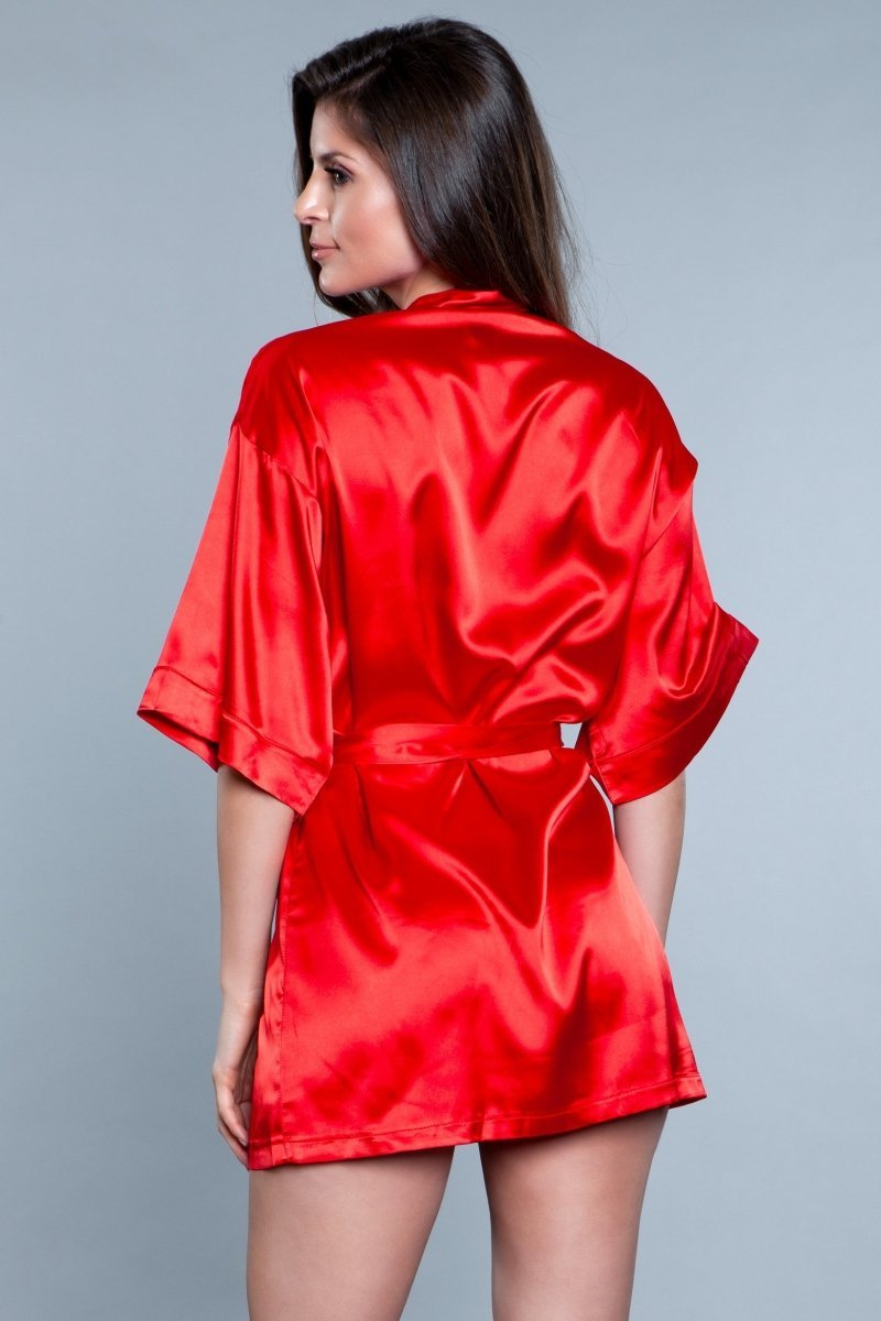 Home Alone Robe - Red 3